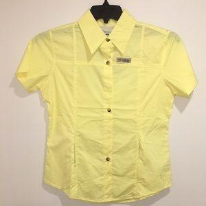 Women's Columbia Titanium Bonehead SS Shirt NWT S